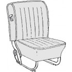 Kit housses de sièges noir 68-72 (basketweave #01)