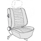 Kit housses de sièges gris clair 77-79 (basketweave #05)
