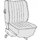 Kit housses de sièges gris clair 73 (basketweave #05)