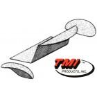 Kit moquette de coffre arrière grise 56-70 TMI