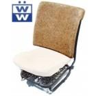 Paille de dossier de siège avant 68-72 sans appui-tête