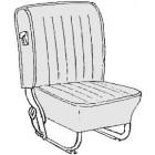 Kit housses de sièges rouge 68-72 (basketweave #07)