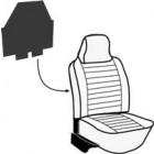 Set de 2 panneaux de protection arrière de dossier de siège avant 73-79