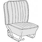 Kit housses de sièges gris clair 58-64 (smooth leatherette #15)