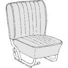 Kit housses de sièges noir 65-67 (smooth leatherette #11)