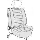 Kit housses de sièges noir 77- avec appuis tête séparés réf 92675 (basketweave #01)