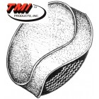 Housse de roue de secours noire (TMI # 301)