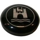 Bouton de klaxon pour cerclage de volant avec logo wolfsburg 8/60-7/71
