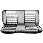 Housses de banquette arrière pour cabriolet