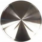 Set de 4 moon disques en 15 pouces à clipser (en inox brossé)