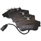 """Plaquettes de frein avant, roue en 15"""", disque plein 282x18mm, étrier LUCAS (les 4) T4 5/1999-6/2003"""