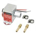 Pompe à essence électrique FACET 12 v  (livré avec 2 raccords)