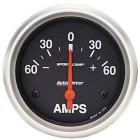 Ampèremètre «SPORT COMP» diamètre 67mm  60-0-60 ampères