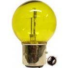 Ampoule phare 12v baionnette à 3 picots pour anciennes 35/35w jaune