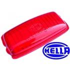 Glace de remplacement rouge HELLA pour réf 31893