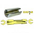 Douille longue réglage 8+9 mm hauteur de caisse DAMS