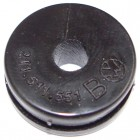 Joint de passage de la tuyauterie rigide de frein sur chassis (4 par véhicule)