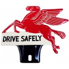 Plaque d'ornement Pegasus DRIVE SAFELY