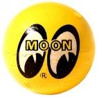 Boule d'antenne MOON jaune à 2 yeux
