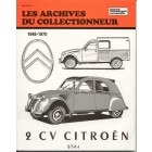 Archive du collectionneur CITROEN 2cv