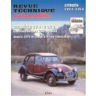 Revue technique automobile 2cv 4-6 APRES 1970