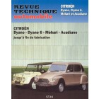 Revue technique automobile DYANE-MEHARI