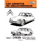 Archive du collectionneur ID19B  ID20  67>69  DS 70>>  tome 3
