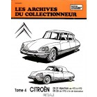 Archive du collectionneur CITROEN DS 21 inj. (70/72) - DS 23 (dep.73) tome 4