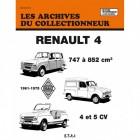 Les archives du collectionneur Renault 4 1961-75