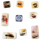 Set de 9 magnets VW