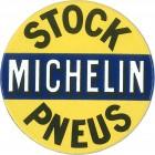 Magnet émaillé rond MICHELIN STOCK