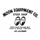 Autocollant MOON EQUIPMENT CO. transparent