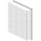 Filtre à air pour Golf 3  1,4-1,6-2,8 + 1,9D TD Tdi  (268x228x56mm)