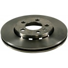 Disque de frein avant ventilé 256x22mm pour Golf 4 (1LQ)
