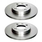 Set de 2 disques de frein avant plein 239x12mm