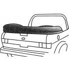 Couvre capote TMI en alpaga noir pour Golf 1 Cabriolet 82-93