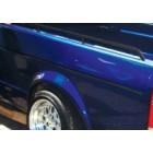 Set de 6 baguettes noires sur tour de caisse pour Golf 1 Caddy