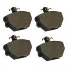Set de 4 plaquettes de freins pour kit réf 71292 et 71302