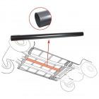 Canalisation de chauffage sous chassis diam. 70mm longueur 1270mm pour T2 3/55-7/72