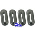 Set de 4 joints de ferrure avant ou arrière WCM 1200 -7/73 et 1300 -7/67