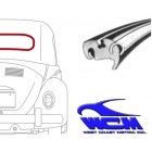 Joint de lunette arrière pour moulure métallique 64-6/74 WCM