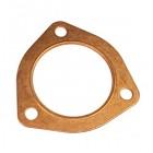 Copper exhaust gasket - Large 3 bolt flange
