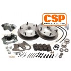 Kit frein à disques avant 5x205 CSP pour rotules 66-67