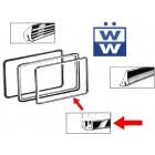 Joint de vitre latérale pop out entre cadre et vitre 50-67