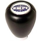 Pommeau en vinyl noir siglé EMPI