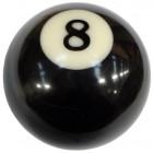 """Pommeau en forme de boule de billard """"8 ball"""""""