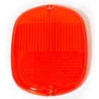 Vitre de feu arrière 8/62-67 USA rouge (sans cerclage chromé)
