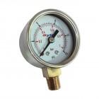 """Manomètre de pression d'essence pour filtre à essence régulateur """"KING"""" réf U120551"""