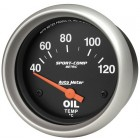 Manomètre de température d'huile «SPORT COMP» diam. 67mm  40-120°
