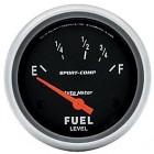 Manomètre de niveau d'essence «SPORT COMP» diamètre 67mm